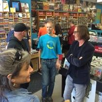 Butch Vig & Steve Marker - old store